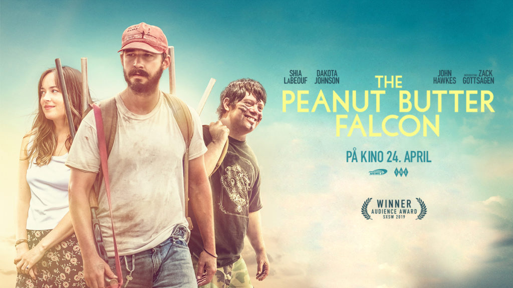 Filmplakat for The Peanut Butter Falcon