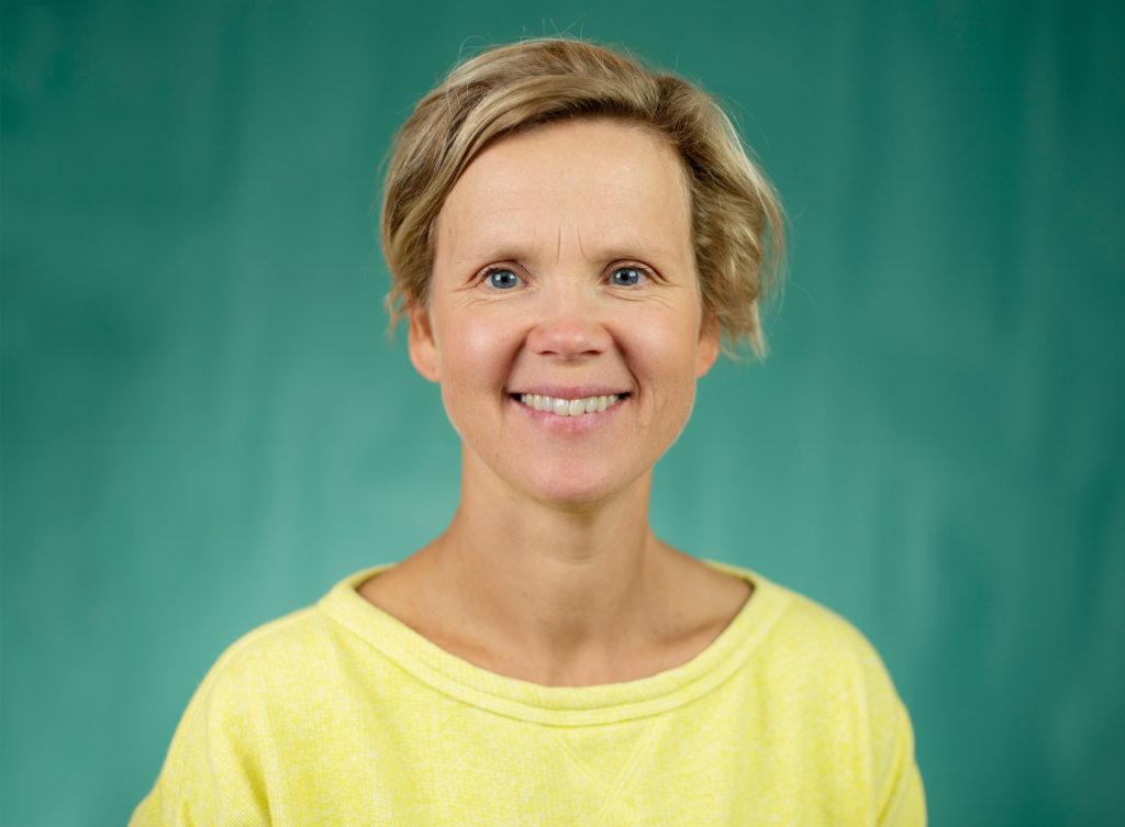 Foto: Portrett av Line Kristiansen Avers