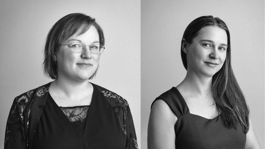 Bilde av Annette Solberg og Frøydis Sund fra Likestillingssenteret